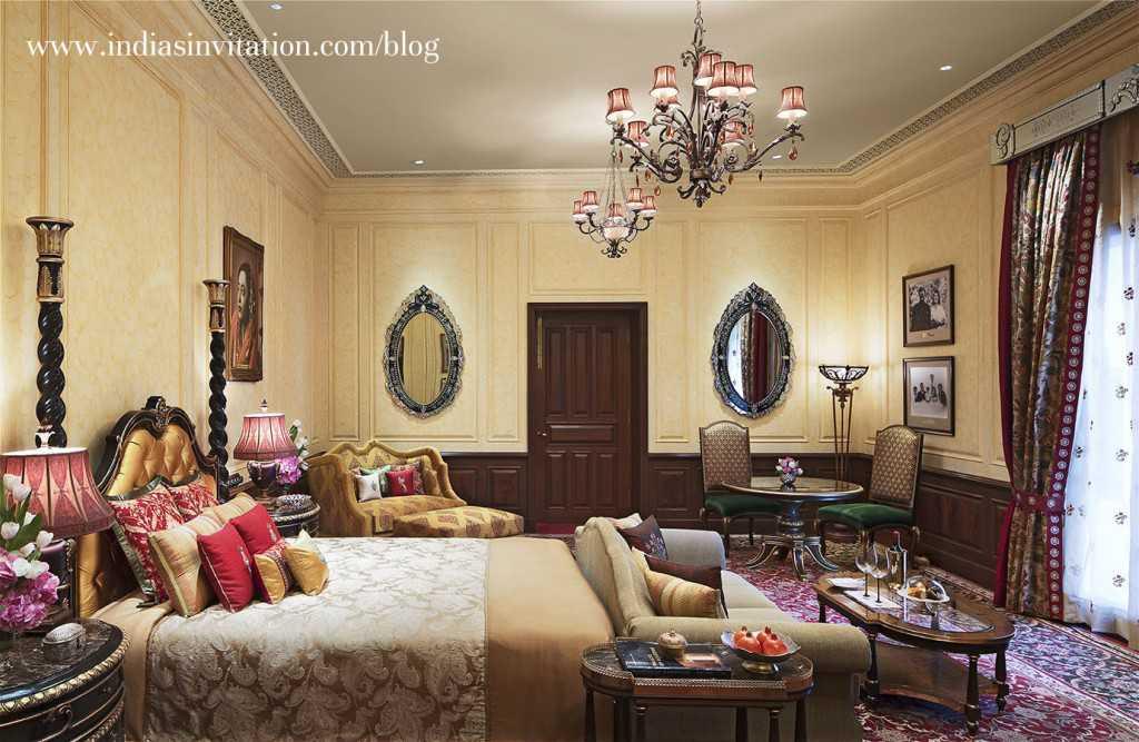 Maharani Suite Grand Royal Suite bedroom