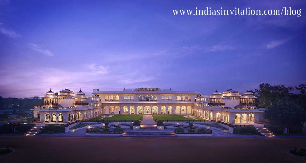 Rambagh Palace Exterior
