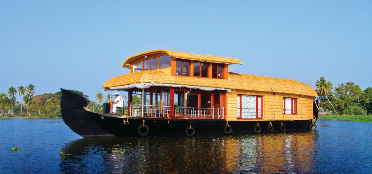 The Houseboat of Kerala