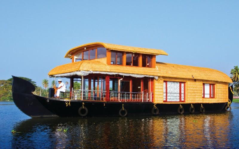 The Houseboat of Kerala