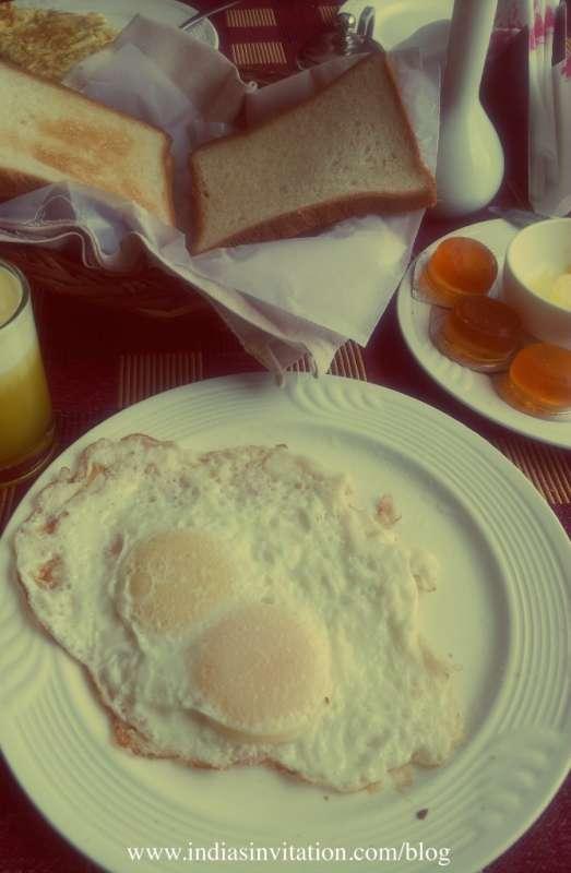 South India Trip Breakfast in Cochin