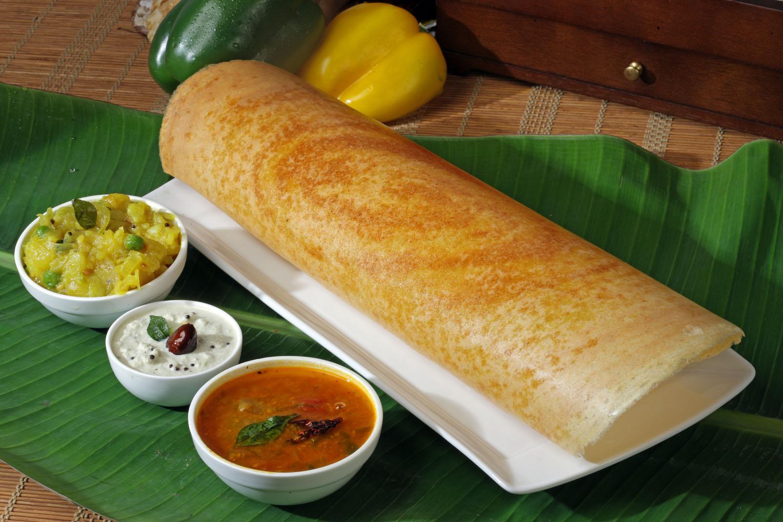 Masala Dosa south Indian snacks
