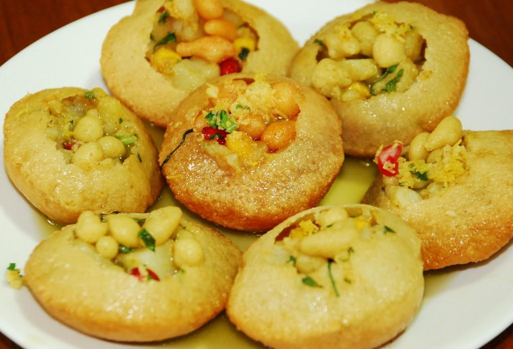 Gol Gappe Best Indian Snack