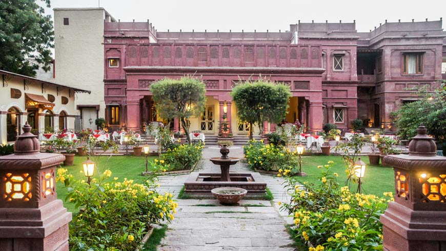 Ratan Vilas heritage hotels in jodhpur
