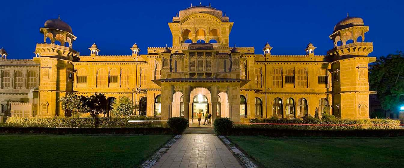 The Lallgarh Palace Heritage hotels in Bikaner
