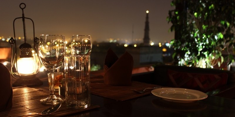 rooftop restaurants in Delhi 2