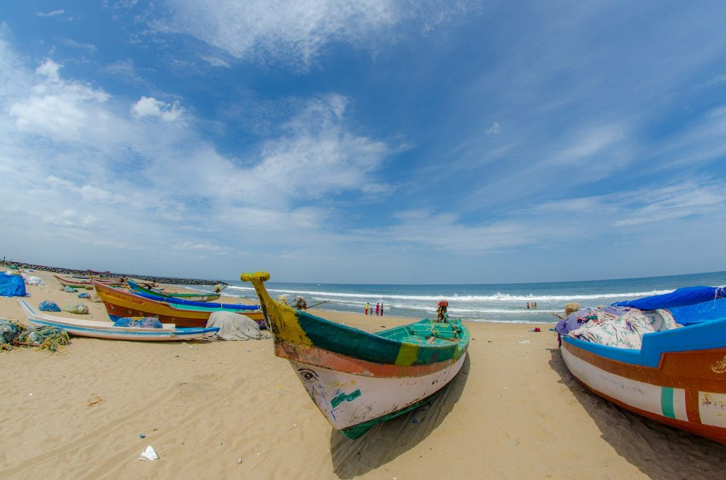 Famous Beaches in Puducherry