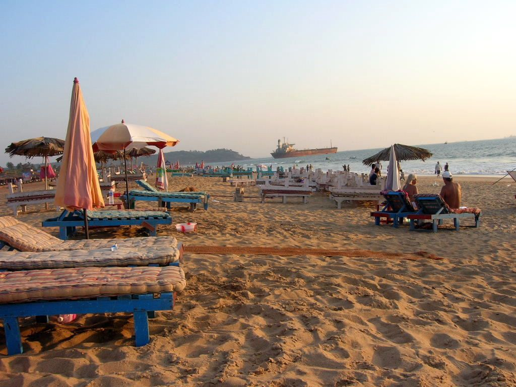Goa famous Beach