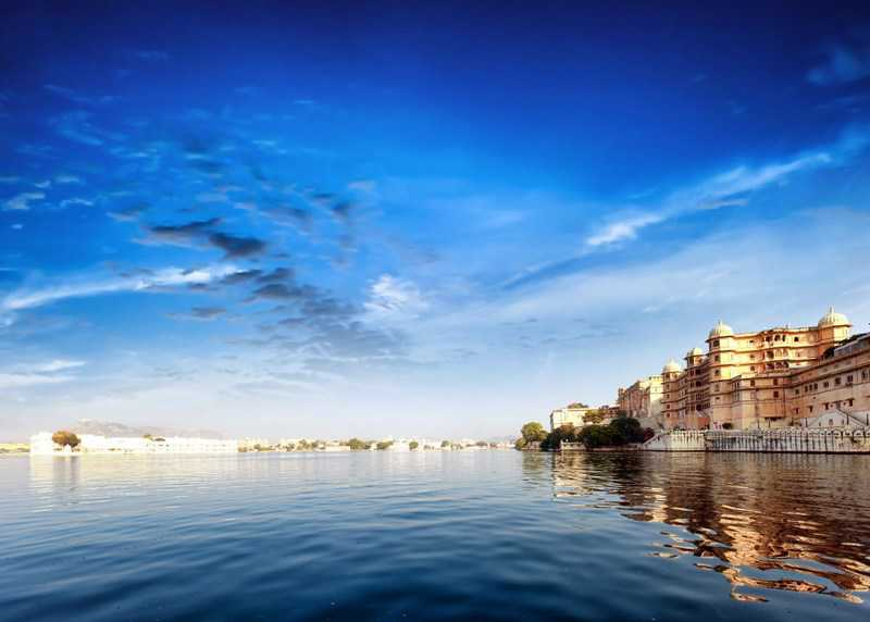 Fascinating landscape of India